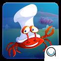 Count Crab: Baby Fish School icon
