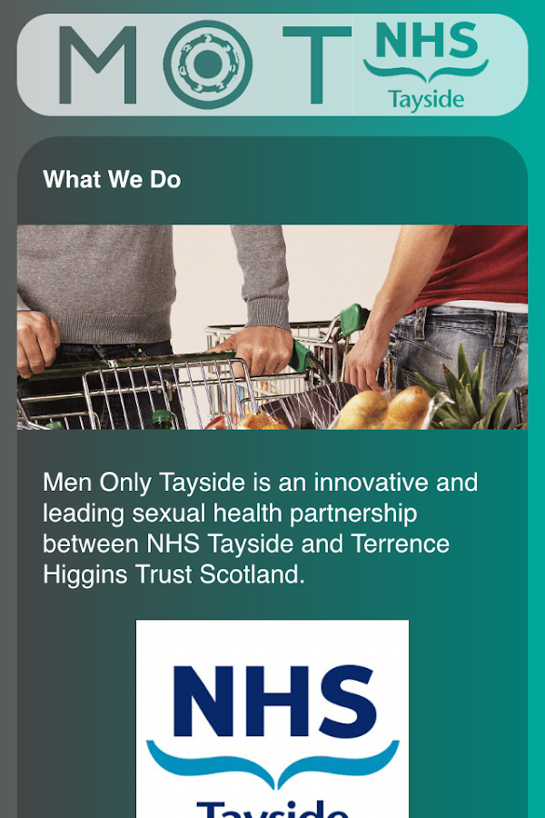 Men Only Tayside- screenshot