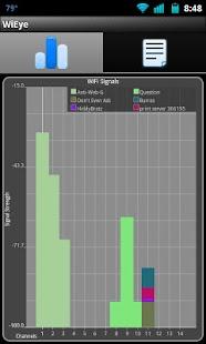 WiEye - WiFi Scanner: miniatuur van screenshot