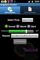 Screenshot of RingMode Planner