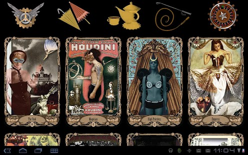 Steampunk TarotBot- screenshot thumbnail
