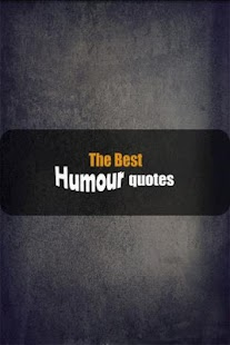 The best Humour quotes - screenshot thumbnail
