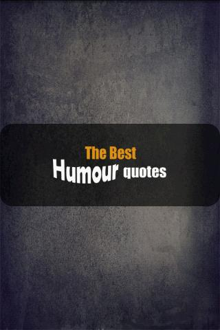 The best Humour quotes - screenshot