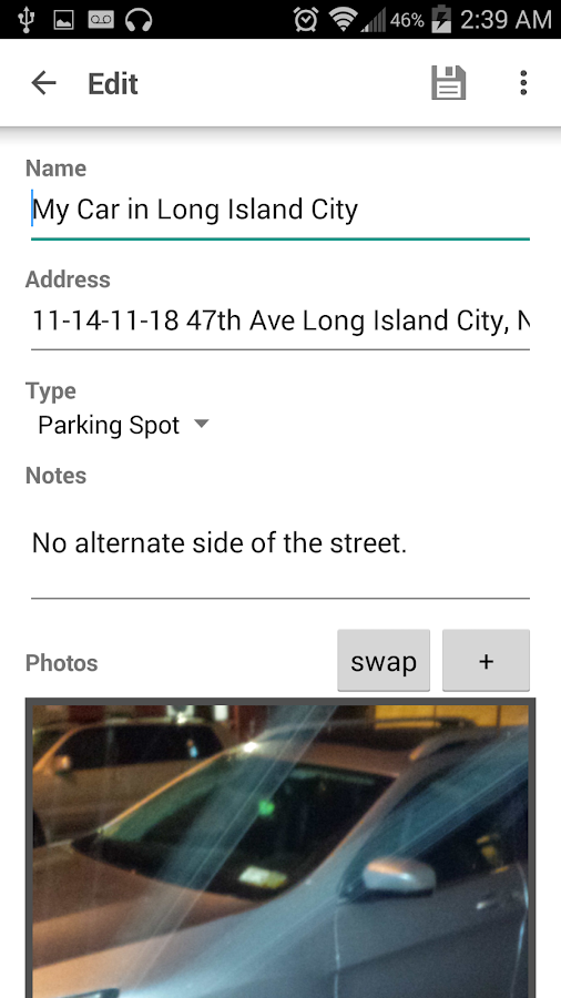 MarkIt - Car and Place Finder- screenshot