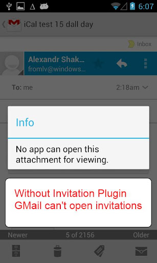 Invitation Plugin