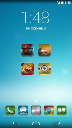 Glass - Icon Pack  screenshots 3