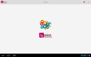 Screenshot of Lexico Sciences