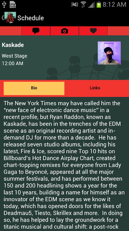 Virgin Mobile FreeFest - screenshot