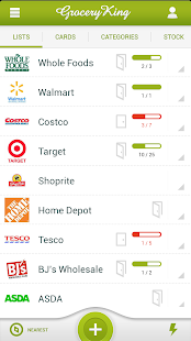 Grocery King Shopping List- screenshot thumbnail