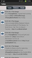Screenshot of KHYI The Range