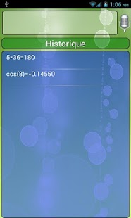 Vocal Scientific Calc Free - screenshot thumbnail