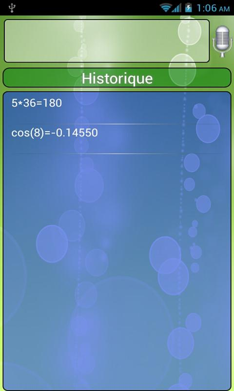 Vocal Scientific Calc Free - screenshot