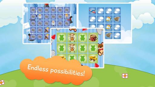 Kids Memory Game Planes - Free