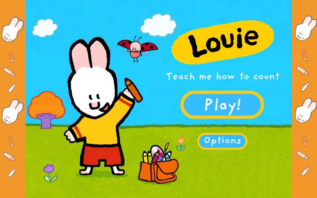 Louie, teach me how to count!- screenshot
