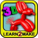 Balloon Animals 3D logo
