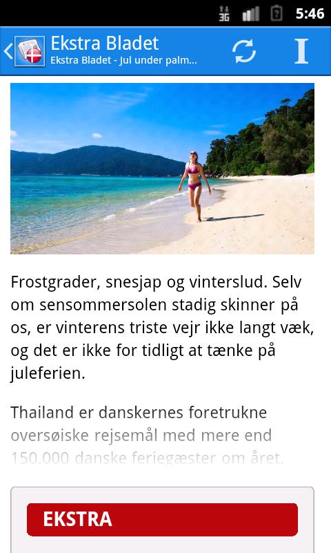 Danmark Nyheder- screenshot