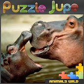 Wild animals Puzzle Jupe