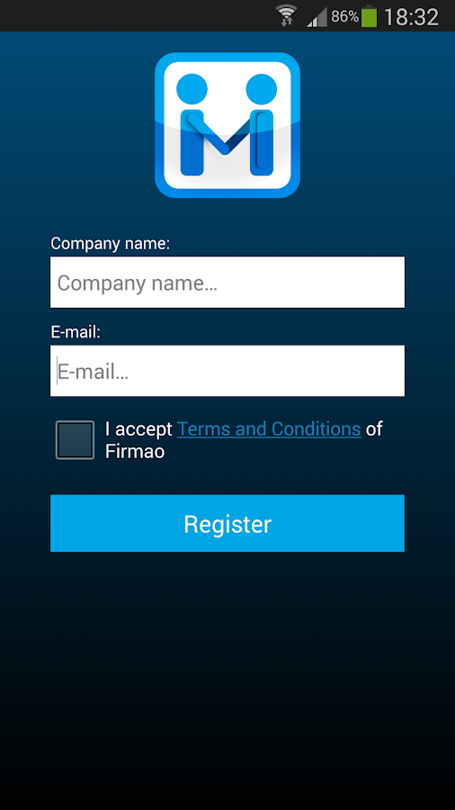 Firmao.net Mobile CRM- screenshot