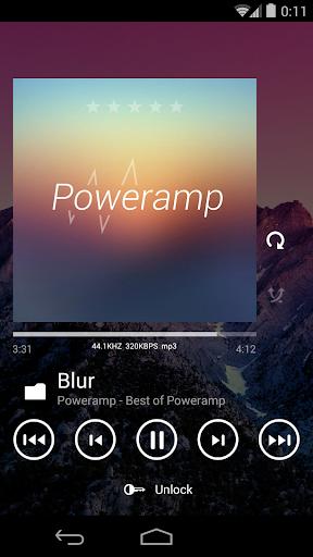 Skin for Poweramp Metro UI  screenshots 5