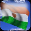 3D Niger Flag + icon