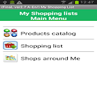 my Daily Shopping Lists icon