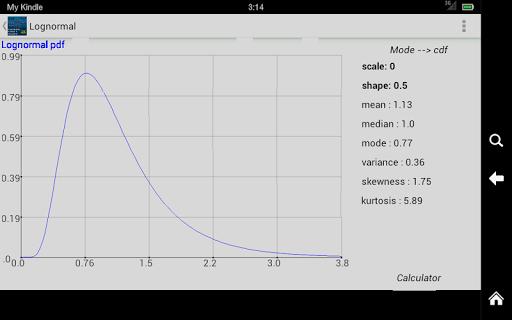 Distribution Plotter Calculato