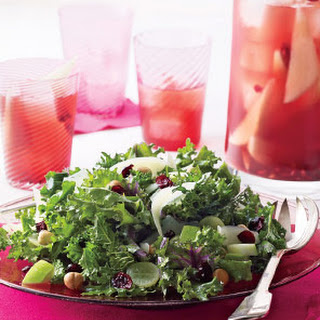 Daphne Oz's Kale Salad With Fruit and Hazelnuts.