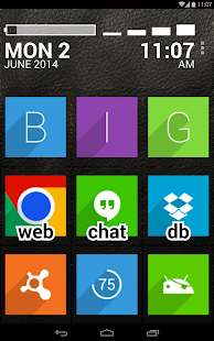 BIG Launcher Screenshot