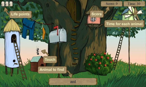Hidden Animals FREE 2+ 1.2.5 screenshots 2