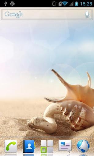 Shells HD Live Wallpaper