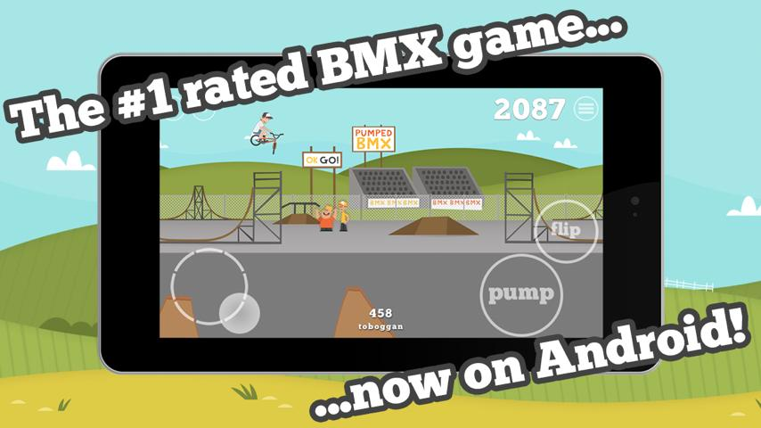 Pumped: BMX- screenshot