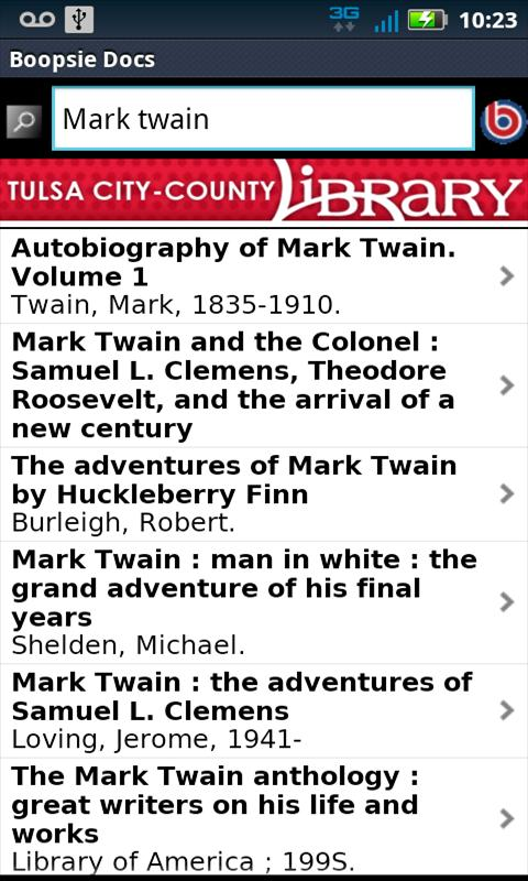 Tulsa City-County Library- screenshot