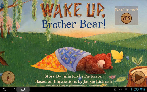 Wake Up Brother Bear