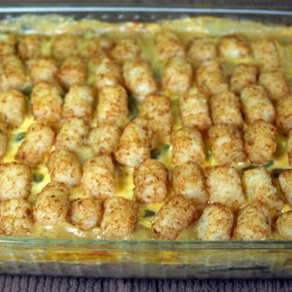 Hearty Tater Tot Casserole.