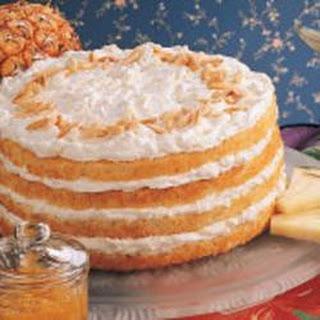 Pretty Pineapple Torte