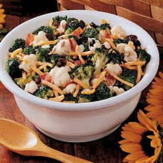 Sunny Vegetable Salad.