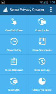 Remo Privacy Cleaner - Eraser - screenshot thumbnail