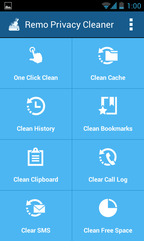 Remo Privacy Cleaner - Eraser - screenshot