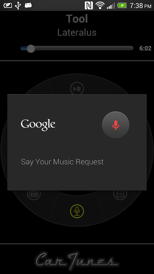 Car Tunes Music Player Lite - screenshot