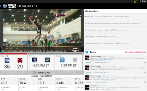NBA Summer League 2014 - OLD Screenshot 4