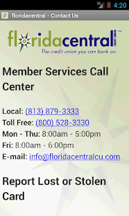 floridacentral Credit Union - screenshot thumbnail