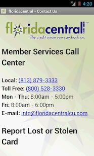 floridacentral Credit Union - screenshot thumbnail