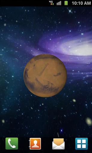 【免費個人化App】3D Mars Live Wallpaper-APP點子