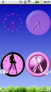 How to download Girly Pink Clocks Widget 2.0.0 mod apk for bluestacks