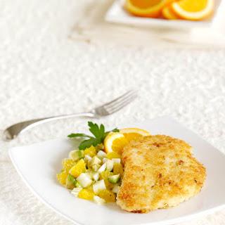 Crispy Orange Chicken Salad.