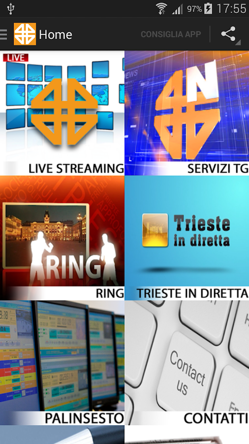Telequattro- screenshot