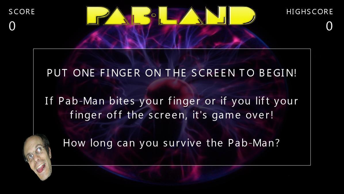 PAB-MAN in PAB-LAND Casual G5- screenshot
