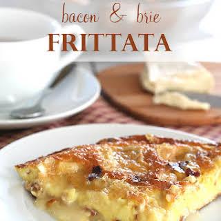 Bacon & Brie Frittata.