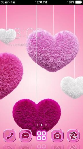 FLUFFY HEART C ランチャー テーマ