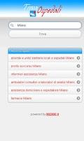 Screenshot of Trova Ospedale